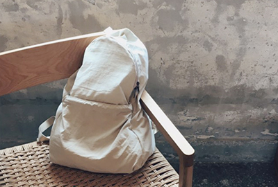 DAYPACK_POCKETABLE (L/Beige)